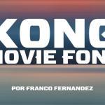 Kong Skull Island Font