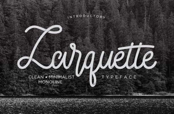 Larquette Script Font