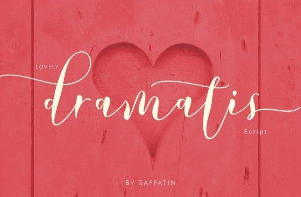 Lovely Dramatis Script Font