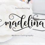 Madelina Script Font