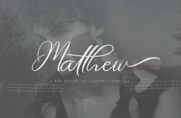 Matthew Script Font