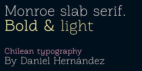 Monroe Typeface