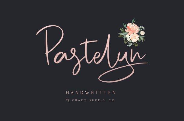 Pastelyn Handwritten Font