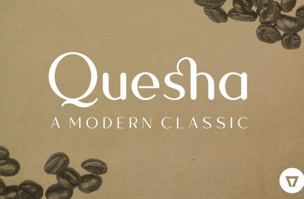 Quesha Typeface