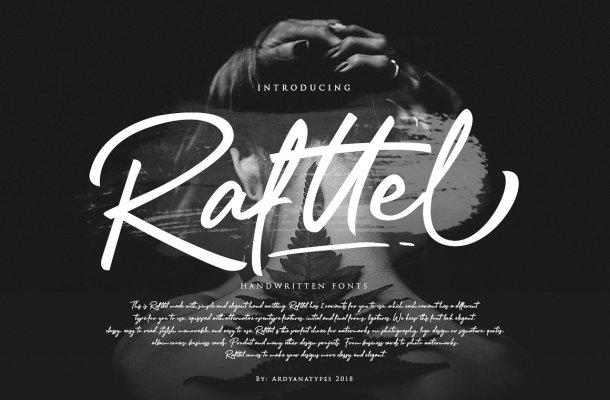 Rafttel Script Font