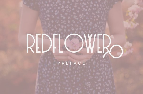 RedFlower Typeface