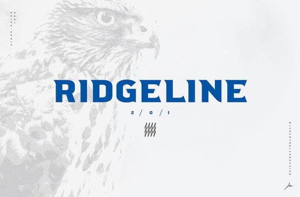 Ridgeline 201 Typeface