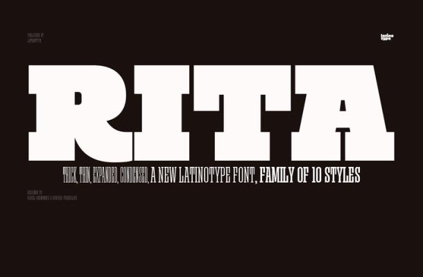 Rita Font Family
