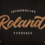Roland Typeface