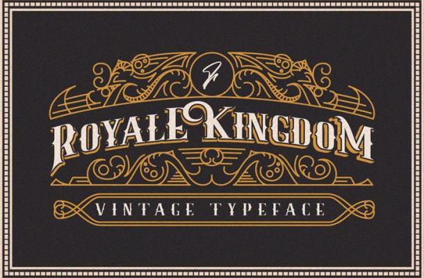 Royale Kingdom Typeface