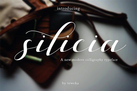 Silicia Script Font