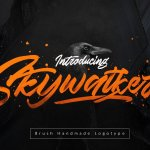 Skywalker Brush Font