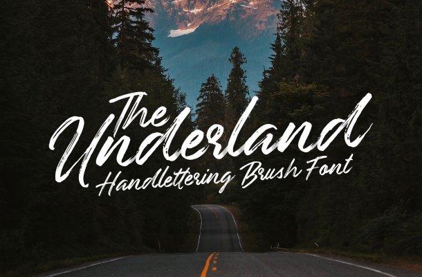 Underland Script Font