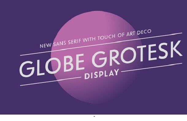 Globe Grotesk Display Font