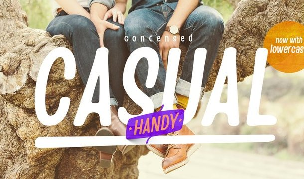 Handy Casual Condensed Font