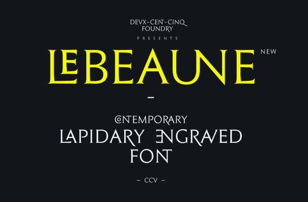 Le Beaune New Font