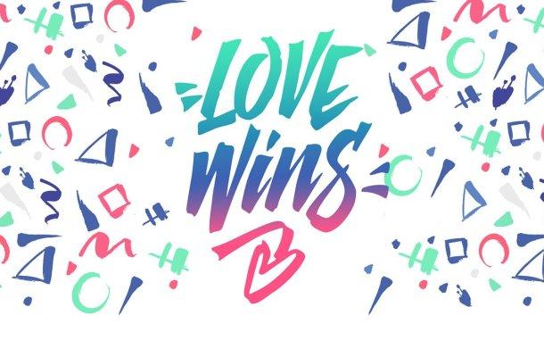 Love Wins Font
