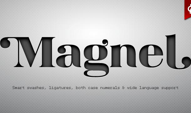 Magnel Font