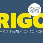 Rigo Font