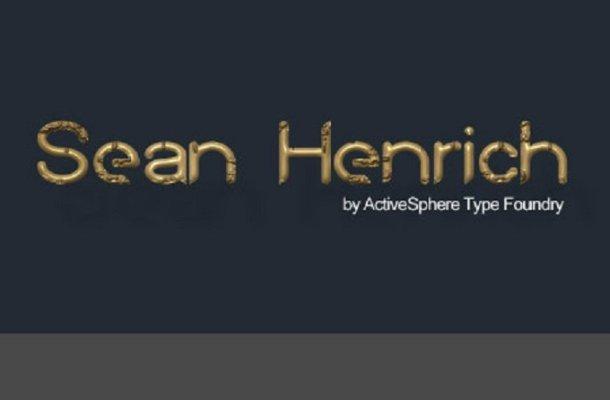 Sean Henrich ATF Font