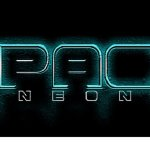 Spac3 neon font
