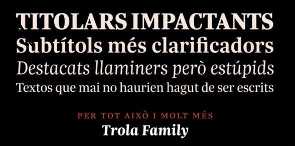 Trola Font