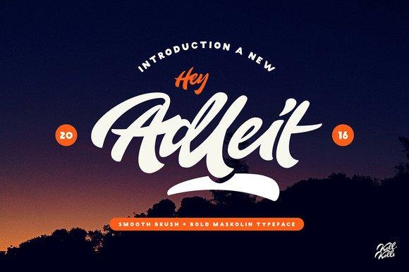 Adleit Script Font