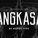 Angkasa Typeface