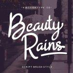 Beauty Rains Script Font