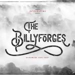 Billyforges Typeface