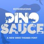 Dinosauce Typeface