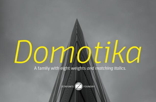 Domotika Font Family
