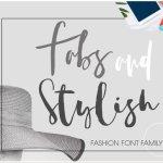 Fabsand Stylish Script Font