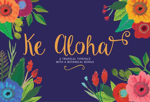 Ke Aloha Font