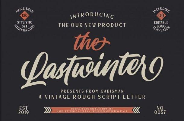 Lastwinter Script Font