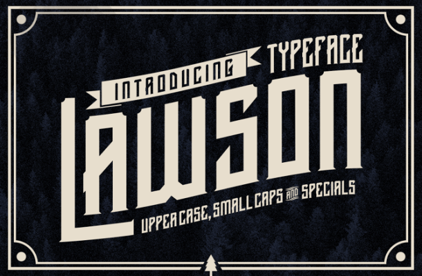 Lawson Typface