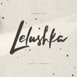 Lelushka Script Font