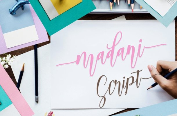 Madani Calligraphy Font