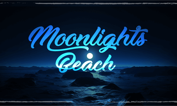 Moonlights on the Beach Font