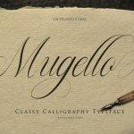Mugello Classy Calligraphy Font