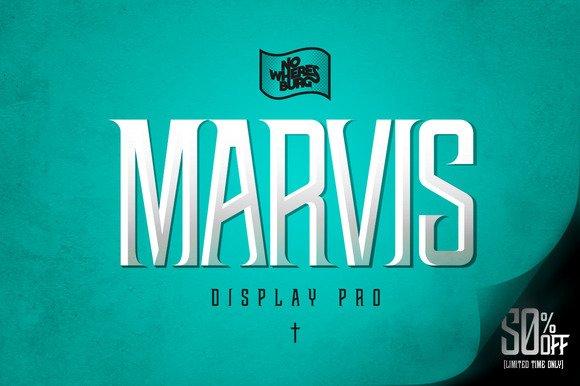 NWB Marvis Display Pro Font