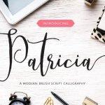 Patricia Script Font