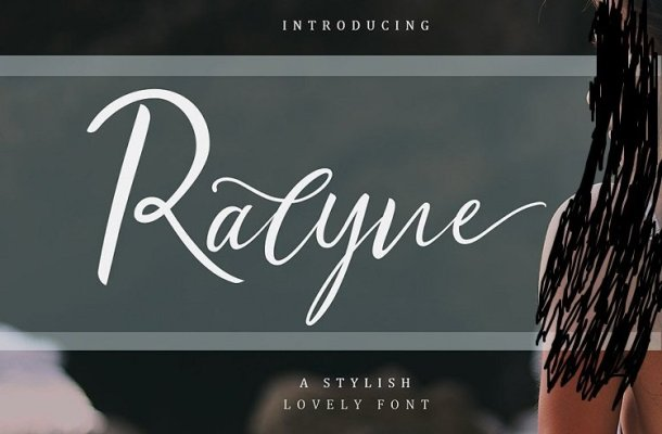 Ralyne Script Font