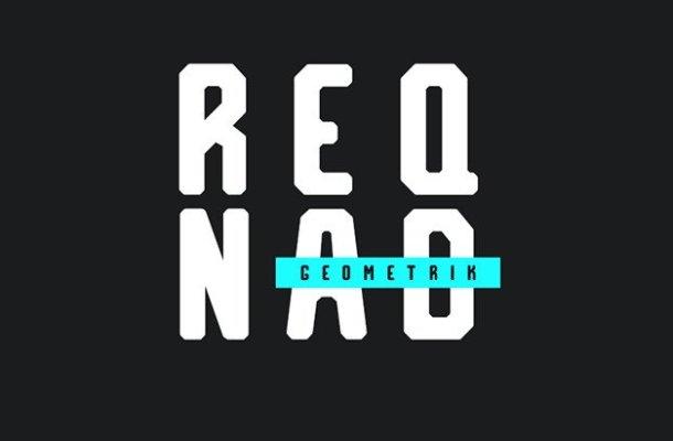 Reqnad Geometrik Typeface