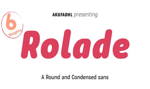 Rolade Font Family