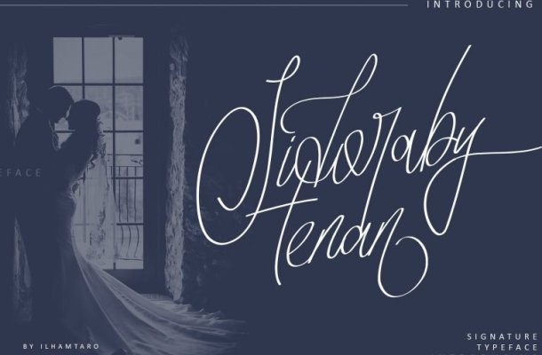 Sidoraby Signature Font