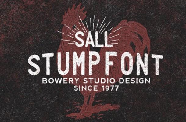 Stump Typeface
