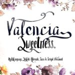 Valencia Sweetness & Extra Bonus Font