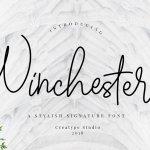 Winchester Signature Font