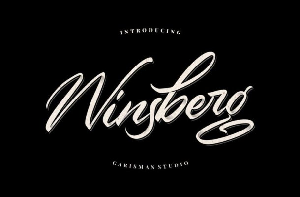 Winsberg Script Font